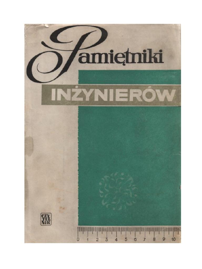 899653eba70a63 Pamiętniki inżynierów - 1966