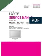 Maual de Servicio Tv Lg 32lf15r-Ma