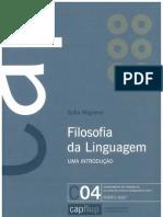 Livro. Filosofia Da Linguagem - Uma Introducao, Sofia Miguens