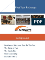 PCC's First-Year Pathways