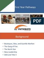 PCC's First-Year Pathways
