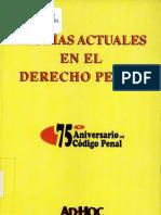 Teorias Actuales en El Derecho Penal - Ouvi a Guillermo y Otros