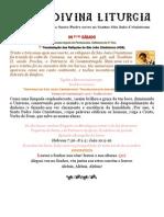 09Fev13.Transladação das Relíquias de S. João Crisóstomo