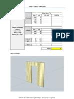 FICHA 1.- Tabique Con Puerta Central (y Lateral)