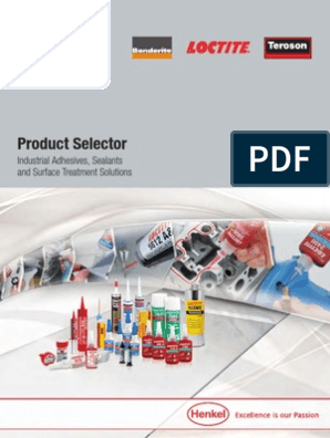 Loctite Product Selection | Adhesive | Screw