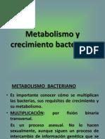 Metabolismo y Crecimiento Bacteriano (1)