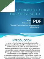 Calidad en La Industria Lactea_rodrigo Riascos