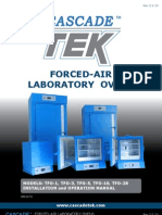 CascadeTEK Laboratory Forced-Air Oven Manual