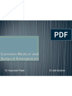 final common medical surgical emergencies