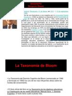 Taxonomia de Bloom - Original