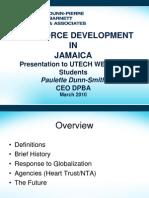 Workforce Development in Jamaica