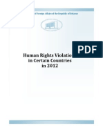 Belarus human rights report