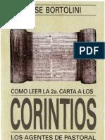 Como Leer La Carta 2 a Los Corintios-Bortolini Jose