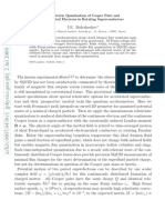 Relativistic Quantization of Cooper Pairs and Distributed Electrons in Rotating Superconductors