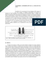 Determinación de la ka del ácido acético