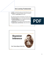Bayesian Inference - Algo for Udating Belifes