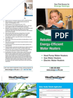 West-Penn-Power-Co-Water-Heater-Rebate-and-Application
