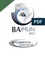 REGLAMENTO GENERAL BAIMUN