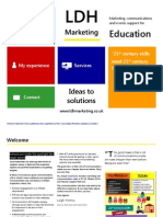 LDH Marketing Education Brochure