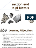 N(A) Science (Chem) Chp 11 Extraction and Uses of Metals