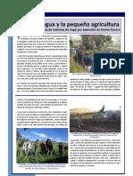 ARTICULO PARA REVISTA - El uso del agua y la pequeña agricultura