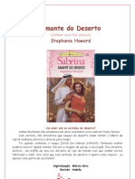 Stephanie Howard - Amante Do Deserto (Sabrina 1086)
