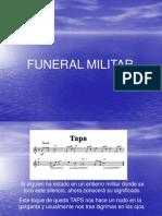 Taps Funeral Militar