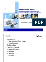 Control Room Design Service Yokogawa