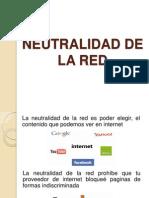 Neutralidad de La Red y Red Dorsal