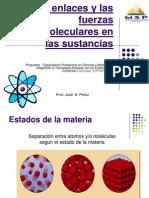 Los Enlaces y Las Fuerzas Intermoleculares en Las Sustancioas - 8 Sept 2012