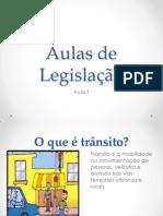 Aulas de Legislação