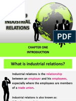 Industrial Relation Chapter 1