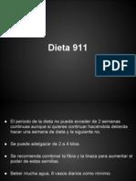 Dieta 911