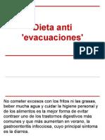 Dieta Anti 'Evacuaciones'