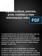 Lipoescultura, Precios, Pros, Contras y Mas Informacion Relevante(2)