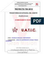 Memoria Descriptiva Ptih 2012 Machimbrado