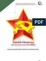 TEMARIO COMITE CENTRAL DEL PARTIDO COMUNISTA DE LA URSS