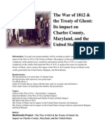 The War of 1812 Charles County Project