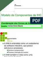 Modelo de Componentes de IHC