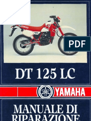 Service Manual DT125LC on