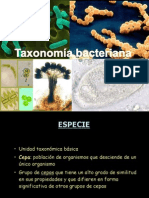Clase Taxonomia Bacteriana(1)