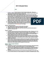 2013 Volleyball Rules V1