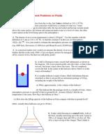 Fluids HW File