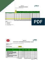 Cuadro Estadistico de Seguridad-Registro de HH e Incidentes