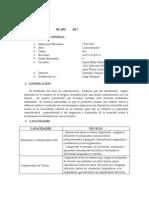Silabo de Comunicacion -5to 2012