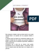 O QUE É BRASIL LITERÁRIO