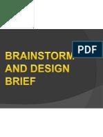 Brainstorm and Design Brief (1)