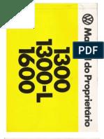 Manual do Proprietário do Fusca 1979