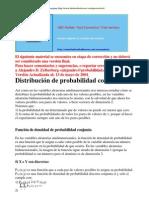 03.2 - Distribucin de Probabilidad Conjunta