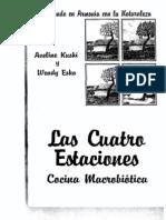 Las cuatro estaciones - Cocina macrobiótica